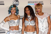 Lil' Mama, T-Boz and Chilli — Foto Stock