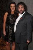 Katie Jackson and Peter Jackson — Stock Photo