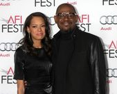 Forest Whitaker, Keisha Whitaker — Photo