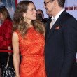Постер, плакат: Robert Downey Jr and wife Susan Downey