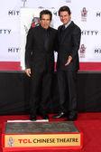 Tom Cruise and Ben Stiller — Stock Photo