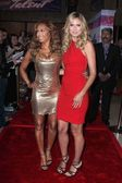 Melanie Brown, Heidi Klum — Stock Photo