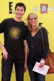 Julian Murray Stern, Lisa Kudrow — Stock Photo