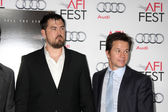 Marcus Luttrell, Mark Wahlberg — Stock Photo