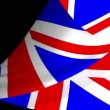 UK Flag Page Curl - Stock Photo