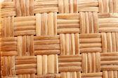 Struttura in legno di rattan con motivi naturali — Foto Stock