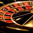 Stock Photo: Roulette is stopped with wining number.