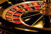 Roulette is stopped with the wining number. — Stock Photo