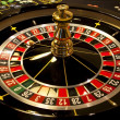 Spinning roulette in casino — Stock Photo