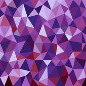 Abstract violet diamond triangles background — Stock Vector