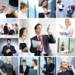 Business collage — Stock Photo #14977557