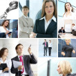 Business-collage — Stockfoto #14977563