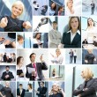 Business collage — Stock Photo #14977573