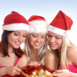 Christmas group portrait — Stock Photo #14977961