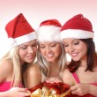 Christmas group portrait — Stock Photo #14977979