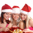 Christmas group portrait — Stock Photo #14977991