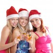 Stock Photo: Christmas group portrait