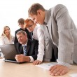 Stock Photo: Business group at work