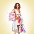 Attractive woman doing shopping — Stock Photo #14981853