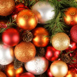 Christmas background — Stock Photo #14987093