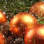 Christmas background — Stock Photo