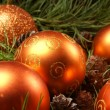 Christmas background — Stock Photo #14987857