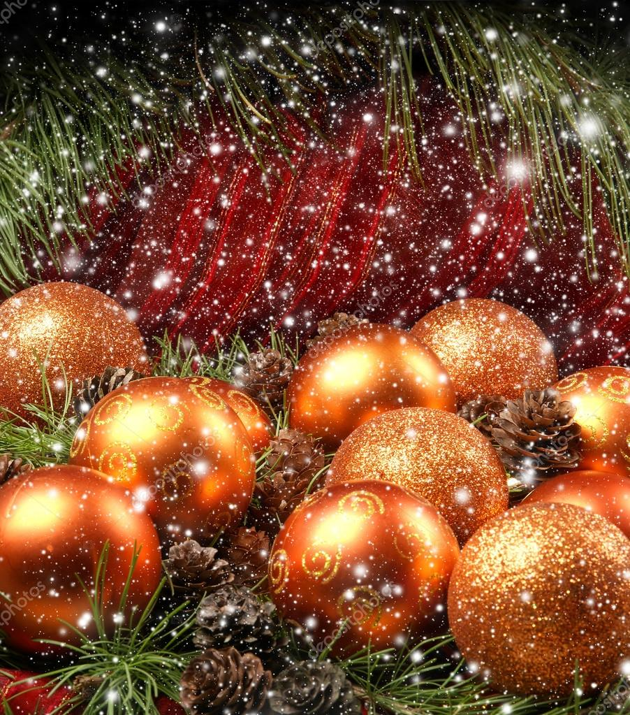 Christmas background — Stock Photo #14987705