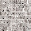 Royalty-Free Stock Photo: Collage, made of many different smiles