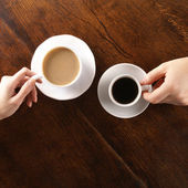 Concept of love and coffee — Stock fotografie