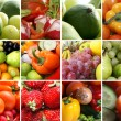 Stockfoto: Nutrition collage