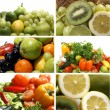 Nutrition collage — Stock Photo #15000851