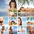 Resort collage — Stock Photo #15002341