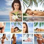 Resort collage — Stock Photo #15002341