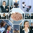 Business collage — Stock Photo #15004155