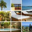 Resort collage — Stock Photo #15004461