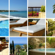 Resort collage — Stockfoto #15004509