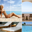 Resort collage — Stock Photo #15004581