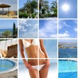 Stock Photo: Resort collage
