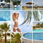 Resort collage — Stock Photo #15005331