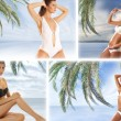 Resort collage — Stock Photo #15007611