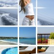 Royalty-Free Stock Photo: Resort collage