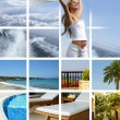Resort collage — Stock Photo #15008111