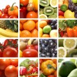 Nutrition collage — Stock Photo #15008411