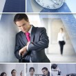 Business collage — Stock Photo #15008521