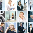 Great collage made of many different images about business style — Stock Photo #15008713