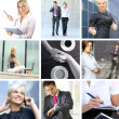 Business-collage — Stockfoto #15008961