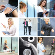 Business collage — Stock Photo #15009021