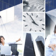 Business collage — Stock Photo #15009273