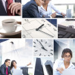 Business collage — Stock Photo #15009297