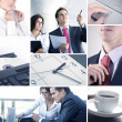 Business collage — Stockfoto #15009421